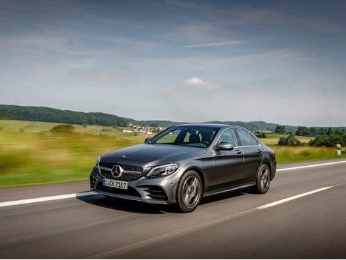 Mercedes-Benz C200 Saloon 1.5 198 AMG Line 9GT+ 5dr