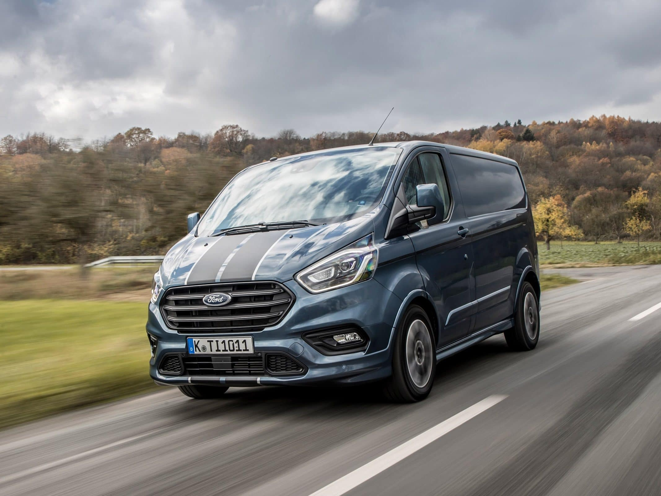 Ford Transit Custom Limited DCIV 130PS Auto