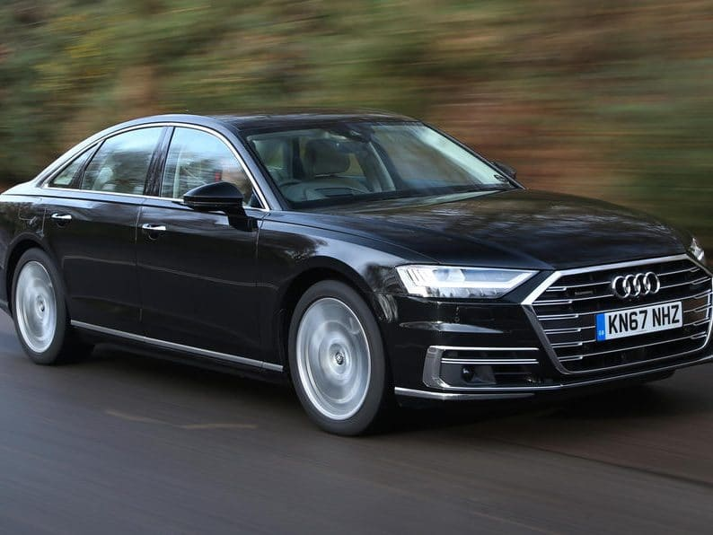 Audi A8 Sport 50 Quattro 3.0TDI V6 286ps Diesel Auto (Sat Nav)