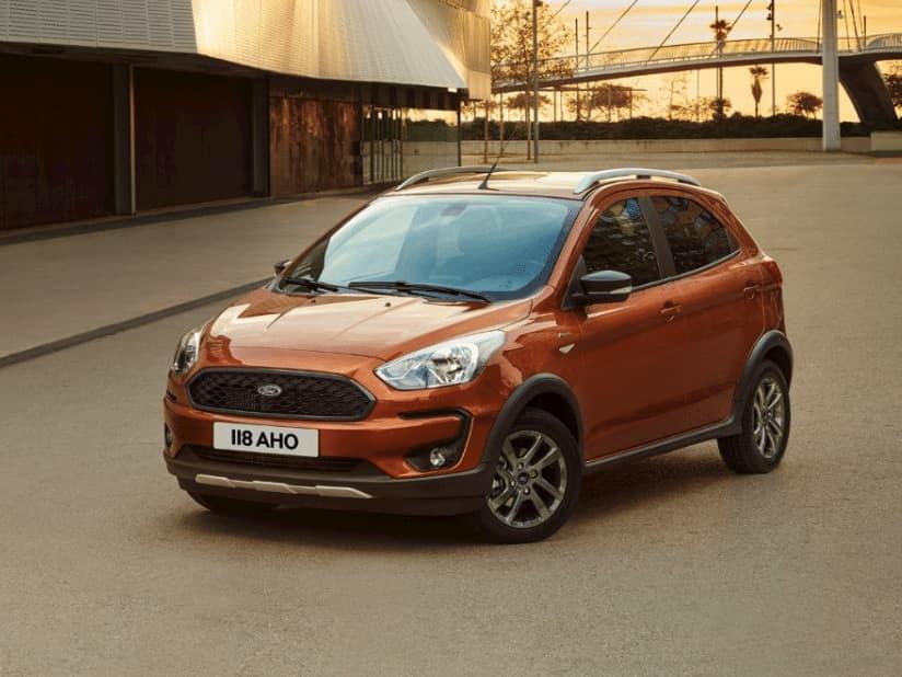 New Ford KA Active + 1.2 Petrol 82PS 5DR Manual