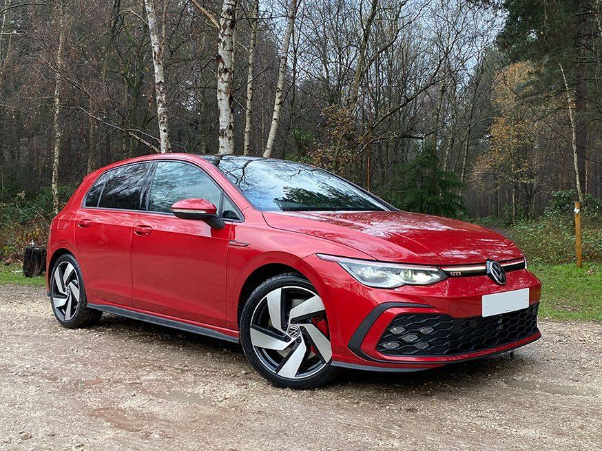 VW GOLF 8 – 2.0 TSI GTI 5DR DSG – WITH ADDITIONAL SPEC: 19