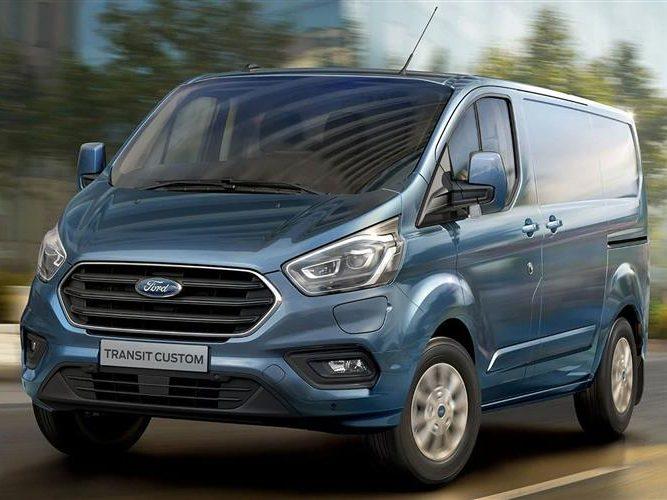 Ford Transit Custom Ltd L1 Manual